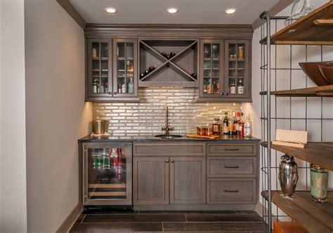 kitchen wall tile ideas 45 basement kitchenette ideas to help you entertain in