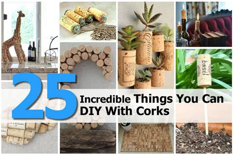 25 Incredible Things You Can Diy With Corks