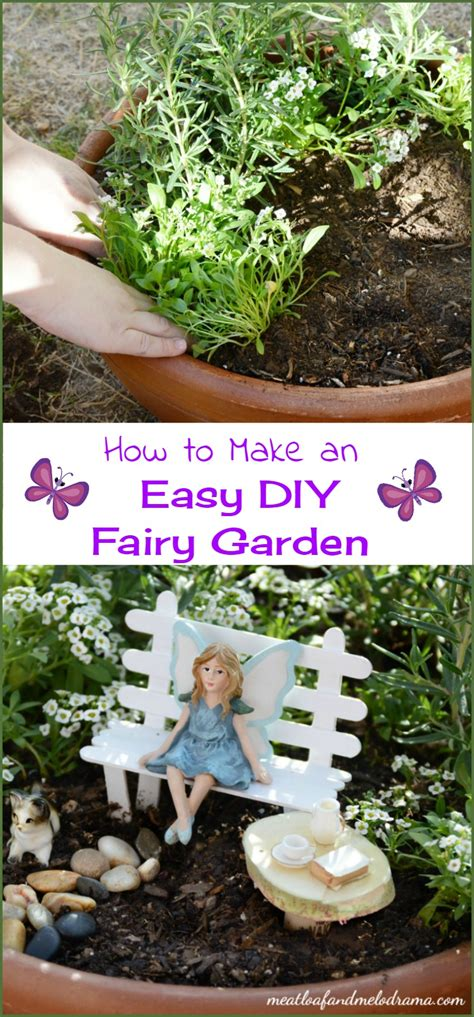 how to make a garden easy diy garden meatloaf and melodrama