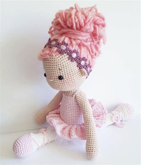 amigurumi crochet doll quot tammy the ballerina quot pdf german
