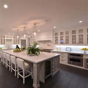 large kitchens design ideas best 25 large kitchen island ideas on large
