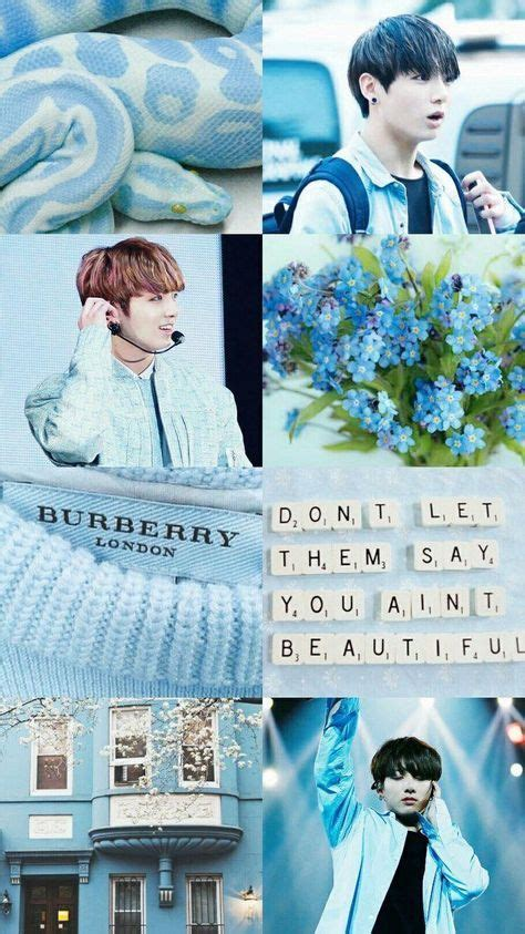 trendy jungkook blue aesthetic wallpaper 35 ideas di 2020