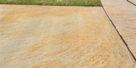 rust stains on concrete gk s custom polishing inc