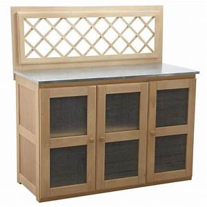 Meuble De Rangement Exterieur : meuble pour cuisine d 39 ext rieur 120 x 51 x 120 achat ~ Edinachiropracticcenter.com Idées de Décoration