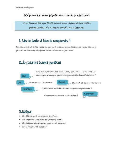 faire un r 233 sum 233 pdf par matthieu fichier pdf