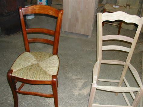 comment refaire l assise d une chaise comment reparer une chaise en paille