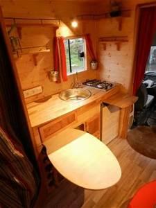 Amenagement Camion Camping Car : fourgon amenage bois ~ Maxctalentgroup.com Avis de Voitures