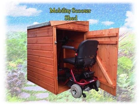 Motorroller Garage by Mobility Scooter Garage Shed Theshedshop Sky Free