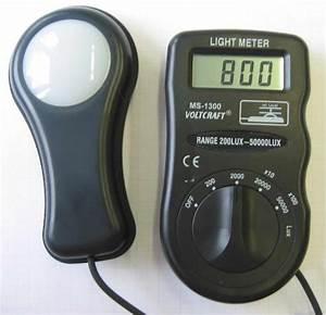 Lux Meter Working Principle