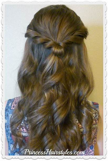 Prom Princess Half Hairstyles Hairstyle Hair Romantic