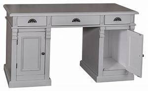 Bureau En Pin : acheter meuble bureau d 39 atelier pin massif ~ Teatrodelosmanantiales.com Idées de Décoration