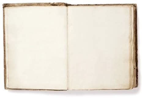 Old Open Book Antique Shabby Blank Pages Digital Photo Image