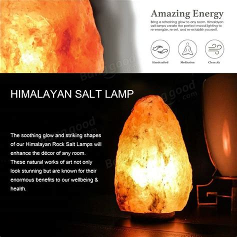 Himalayan Ionic Salt L by 14 X 10cm Himalayan Ionic Air Purifier Rock