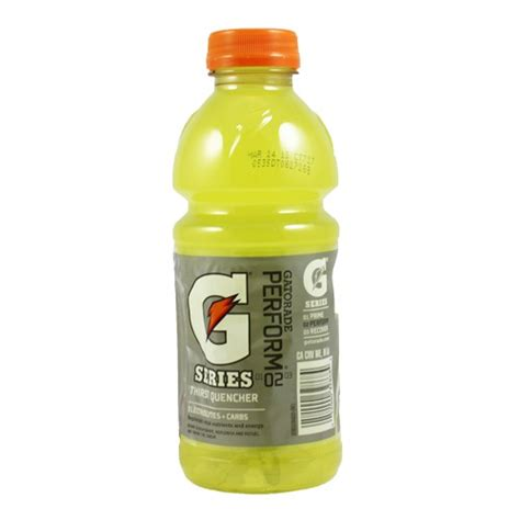 GATOR ORG BOTTLES LEMON LIME