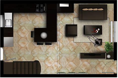decoration cuisine americaine salon décoration salon sejour cuisine ouverte