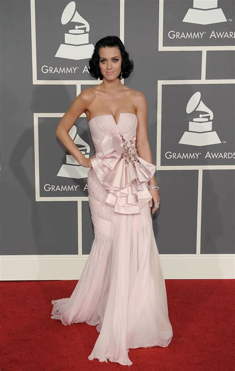katy-perry-51st-annual-grammy-awards-08 | Strapless dress ...