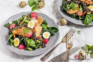 Spinat Als Salat : spinat salat mit karamellisierten honig radieschen und linsen vinaigrette madam rote r be ~ Orissabook.com Haus und Dekorationen