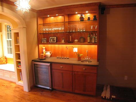 Bar Area Custom Cabinetry & Millwork   Platt Builders