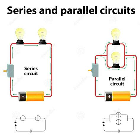 Series Simple Circuit For Grade Parallel
