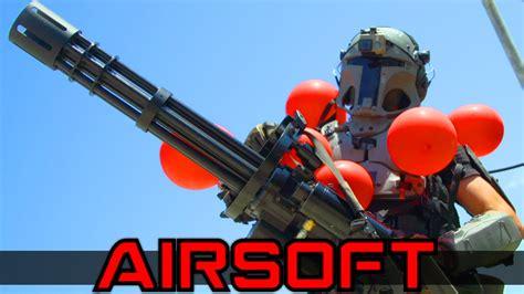 Airsoft Minigun Juggernaut - YouTube