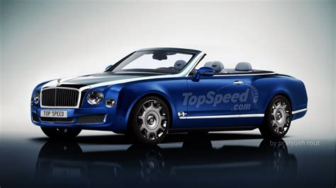bentley mulsanne convertible pictures