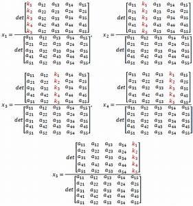 Inverse Matrix 4x4 Berechnen : linear equations ~ Themetempest.com Abrechnung
