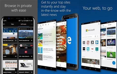 microsoft edge for android is now available for