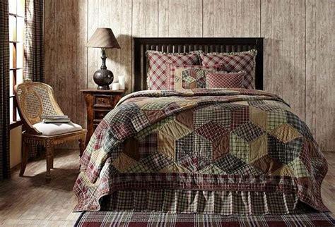 primitive bedding sets   bedroom warm  cozy