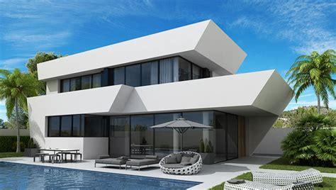 Moderne Häuser Mit Pool by Moderne H 228 User Mit Eigenem Pool In La Marina Costa