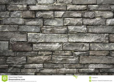 grey stacked wall of grey stacked stones stock photo image 14209274