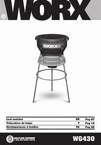 Worx Tools Wg430 Users Manual