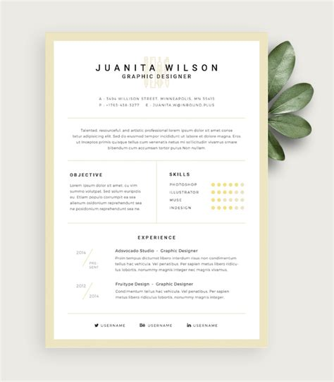 Eye Catching Resume by Free Eye Catching R 233 Sum 233 Templates To Help You Stand Out