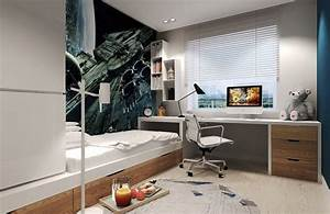Chambre 9m2 Ikea : chambre enfant plus de 50 id es cool pour un petit espace ~ Melissatoandfro.com Idées de Décoration