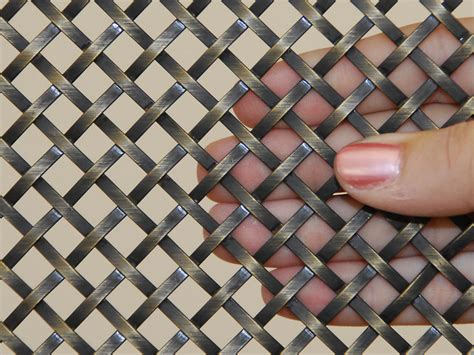 decorative metal screen for cabinets decorative metal mesh panels flat wire mesh panels for