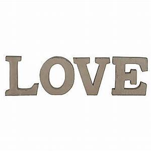love decorative letters love hearts family home and With love decor letters