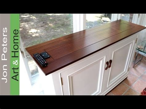 build  tv lift cabinet making  top youtube