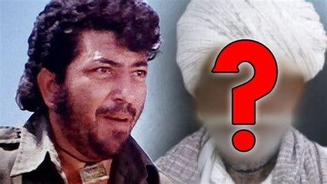 Who Was Gabbar Singh's Father In Sholay ?
