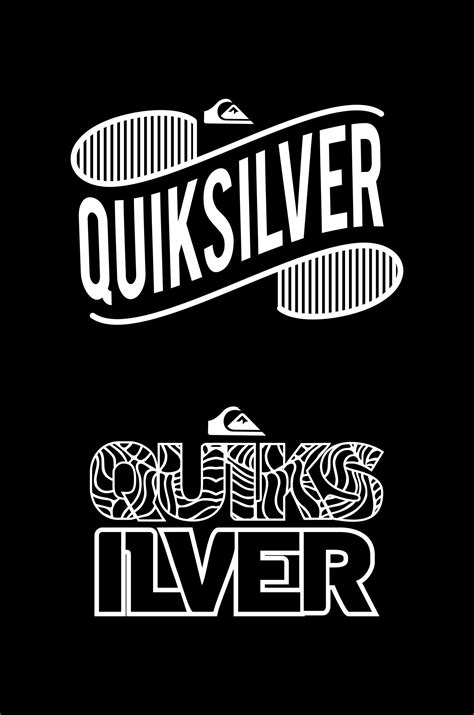 Tshirt Quiksilver Logo White wallpaper black background abstract digital