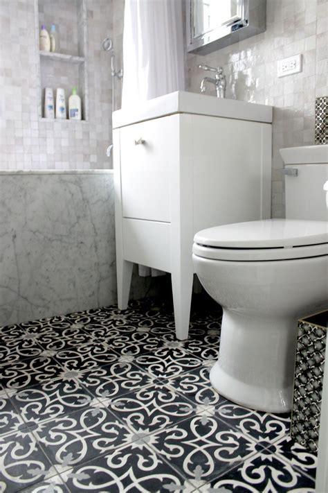 Moroccan Bathroom Floor Tiles by Guest Bathroom Flooring Room Lucifer C4 14 24