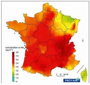 Carte Pollution Air : pollution ades rouge et vert ~ Medecine-chirurgie-esthetiques.com Avis de Voitures