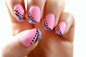 Easy nail art designs for beginners step by cute