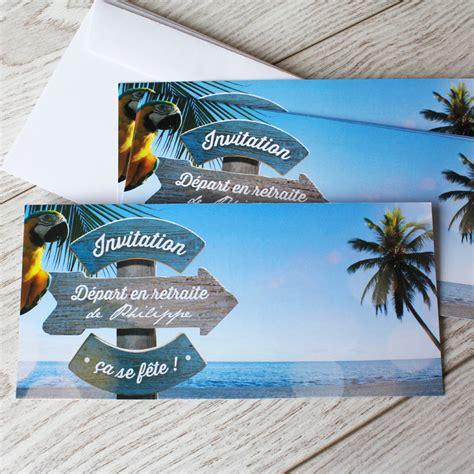 modele carte invitation depart en retraite carte invitation d 233 part 224 la retraite sur un air de