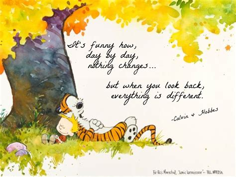 Love Quote Life Tumblr Sad Quotes Time Friends Calvin