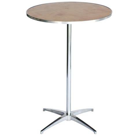 Round Cocktail Table For Rent In Nyc Partyrentals Us