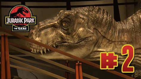 trex rollercoasters jurassic park  game ep