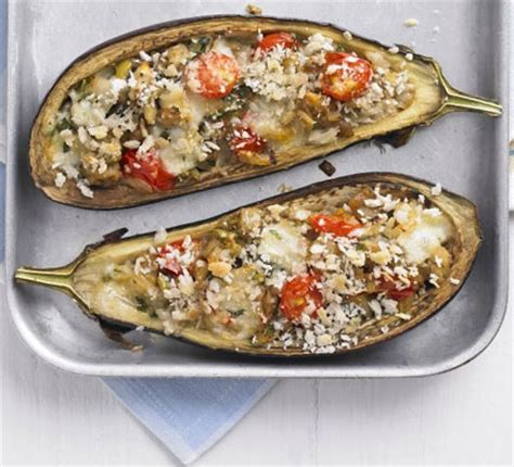italian style stuffed aubergines bbc good food