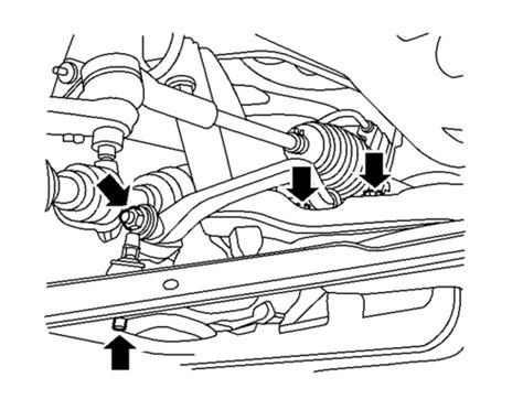 repair guides front suspension stabilizer bar sway