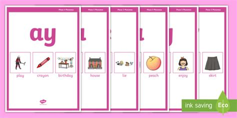 * New * Phase 5 Phonemes Display Posters  Phase 3 Phonemes Display Posters
