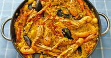 cuisine espagnole la paëlla recette de la paëlla recette par chef simon