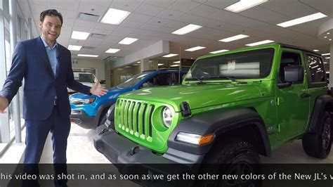 2018 Jeep Wrangler Jl Colors by 3 New 2018 Jeep Wrangler Jl Colors Blue Stingray